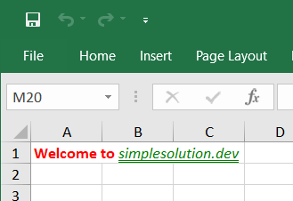 Apache POI Creating Multiple Fonts Excel Cell using RichTextString