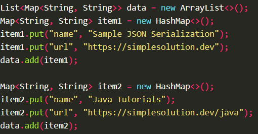 Serializes Java object into JSON string using JSON.toJSONString() with Fastjson