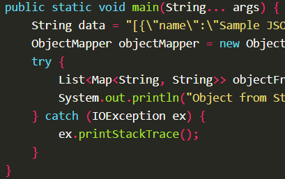 Deserialize JSON string into Java object using ObjectMapper.readValue() with Jackson
