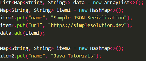 Serializes Java object into JSON string using ObjectMapper.writeValueAsString() with Jackson