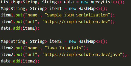 Serializes Java object into JSON String using JsonAdapter.toJson() with Moshi