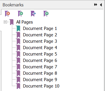 Creating Bookmarks for PDF Document in Java with Apache PDFBox