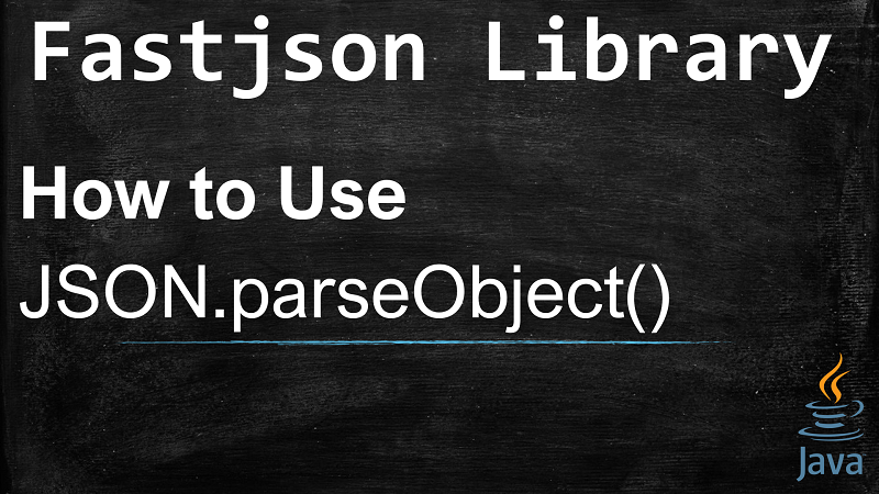 Deserializes JSON String into Java object using JSON.parseObject() with Fastjson