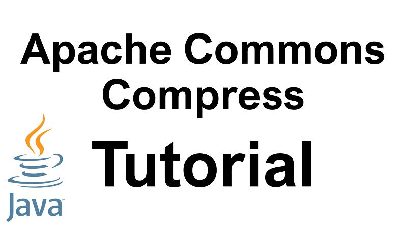 Java Apache Commons Compress Tutorial
