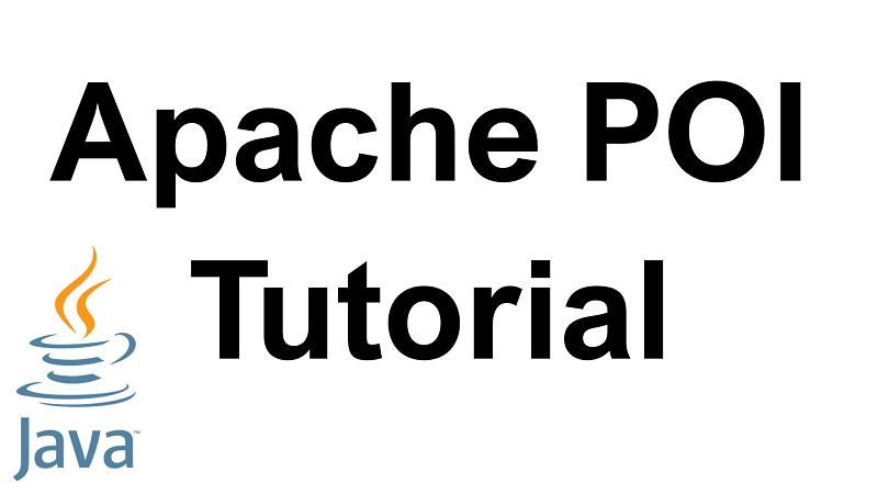 Java Apache POI Tutorial