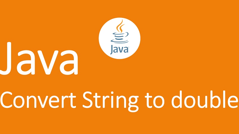 Convert String to double in Java