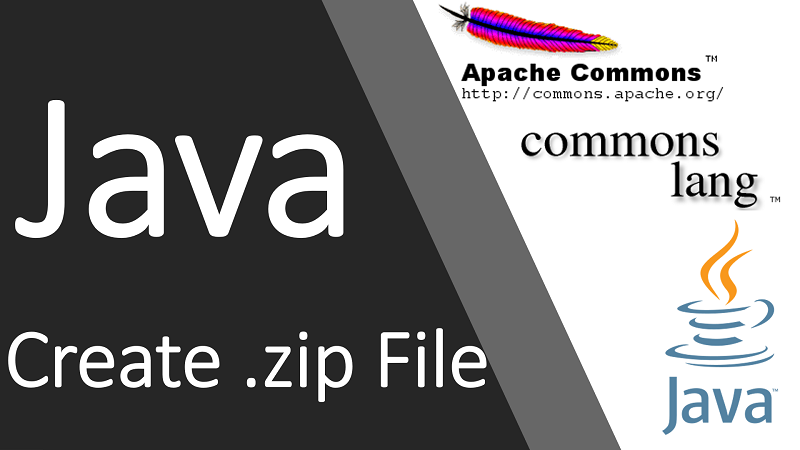 Create .zip File in Java using Apache Commons Compress