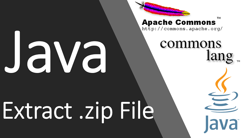 Extract .zip File in Java using Apache Commons Compress