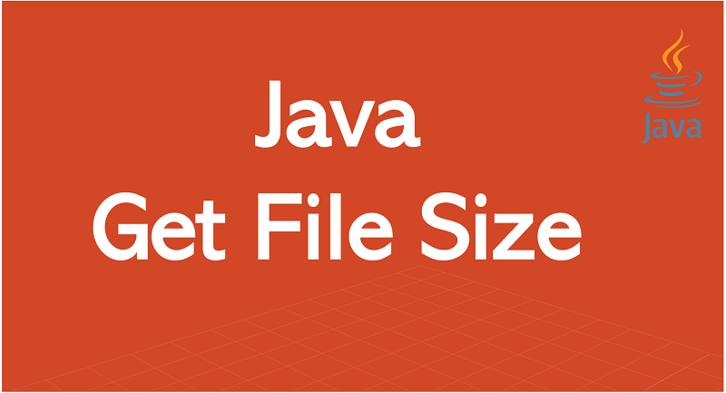 Get File Size in Java