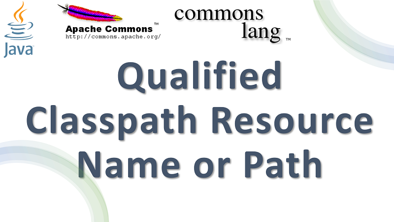 Java Get Fully Qualified Name or Path of Classpath Resource using Apache Commons Lang
