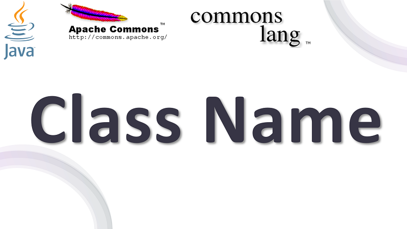 Java Get Name of Class in Null-safe using Apache Commons Lang