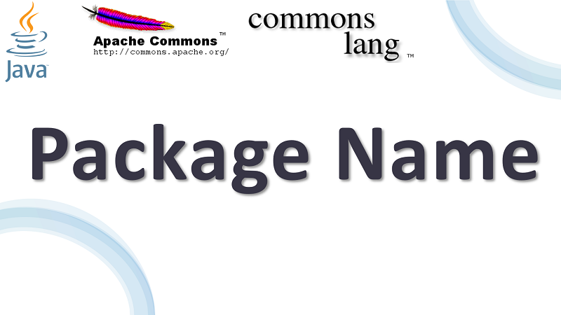 Java Get Package Name of a Class using Apache Commons Lang