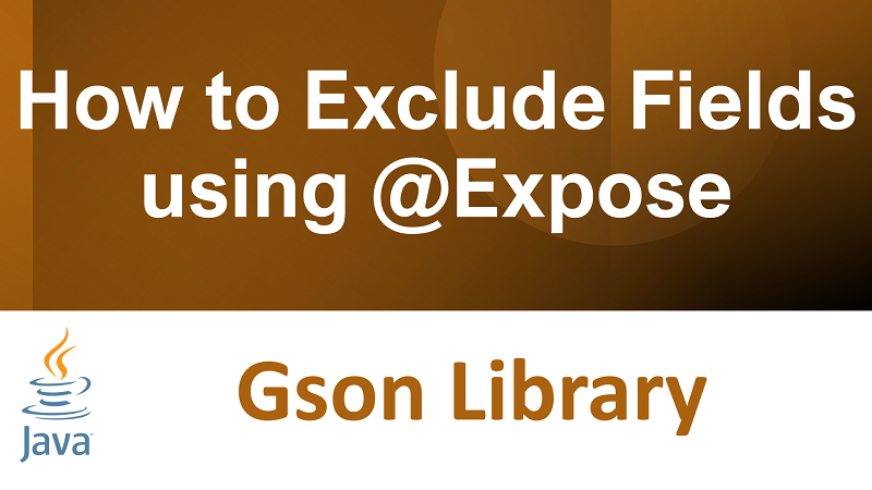 Java Gson exclude fields using @Expose annotation