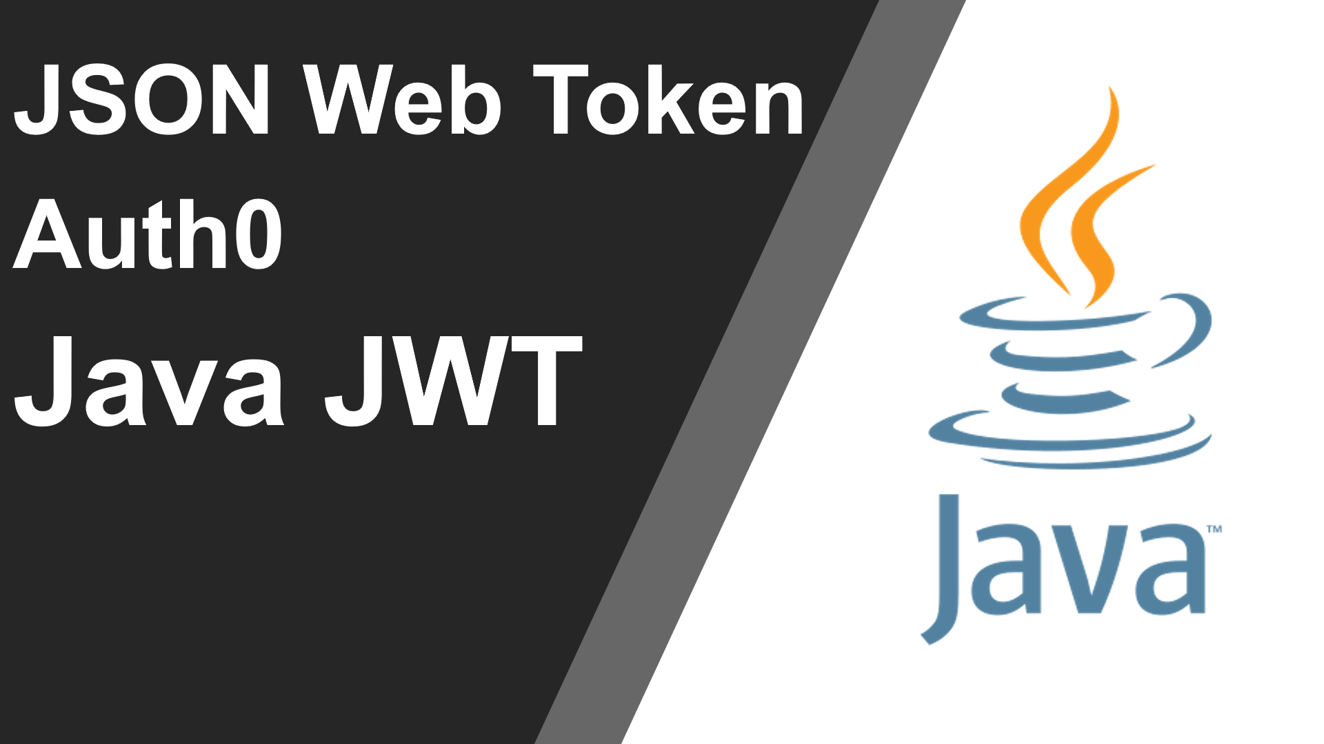 JSON Web Token in Java using Auth0 Java JWT Library