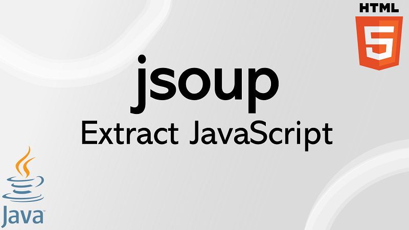 jsoup extract JavaScript from HTML script element in Java