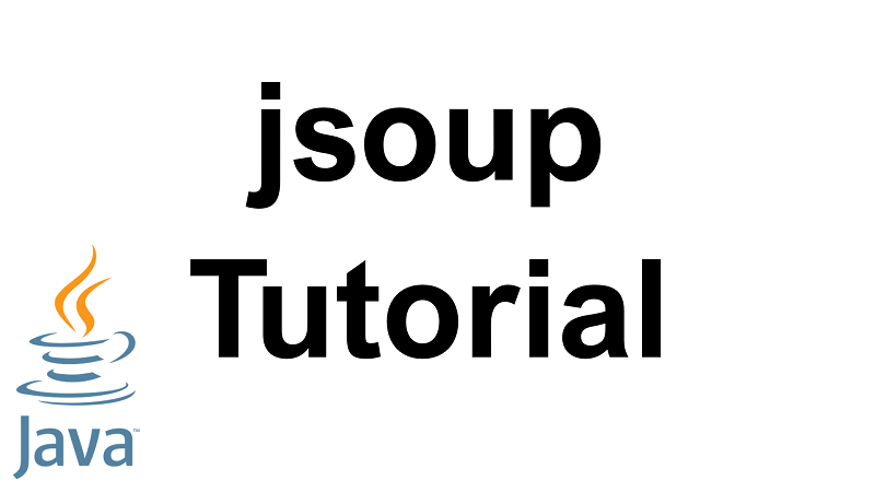 Java jsoup tutorial