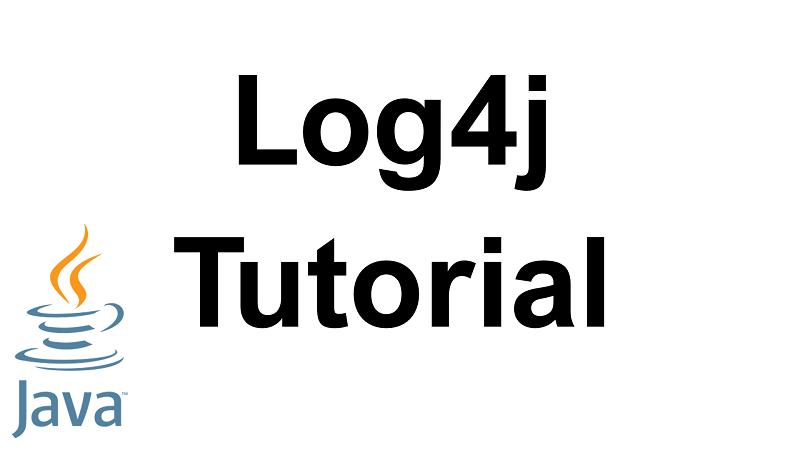 Java Log4j Tutorial