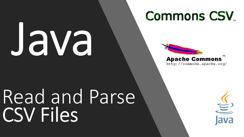 Read and Parse CSV File in Java using Apache Commons CSV