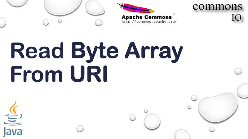 Read Content from URI into Byte Array in Java using Apache Commons IO