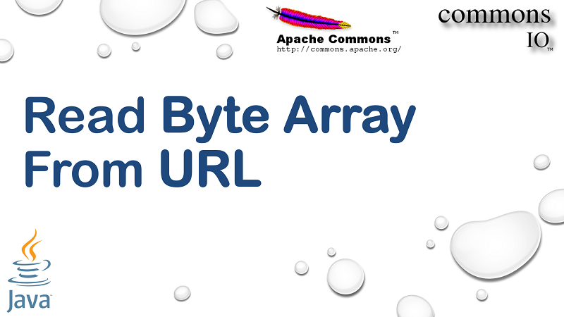 Read Content from URL into Byte Array in Java using Apache Commons IO