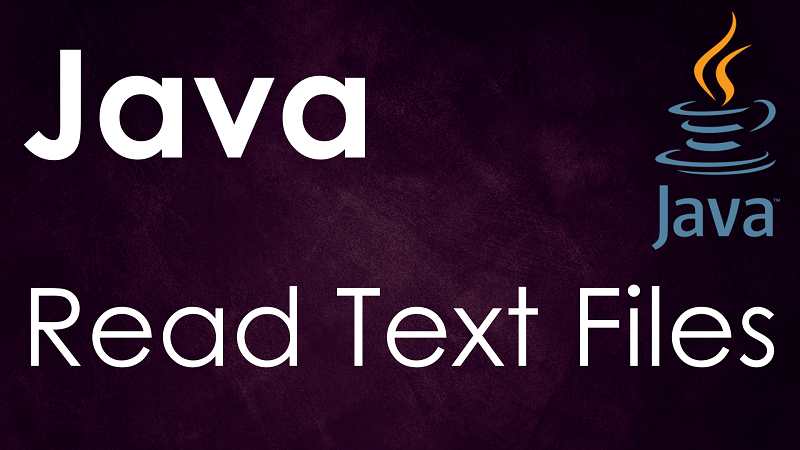Read Text Files in Java