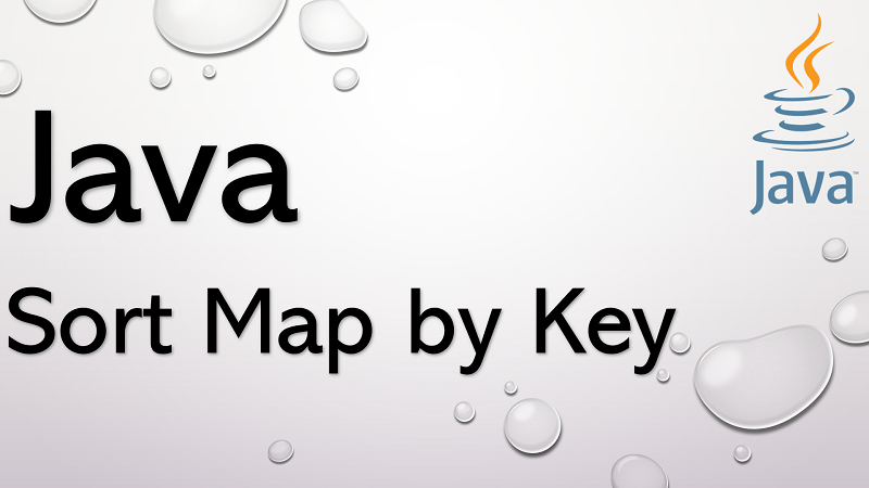 Sort Map by Key in Java
