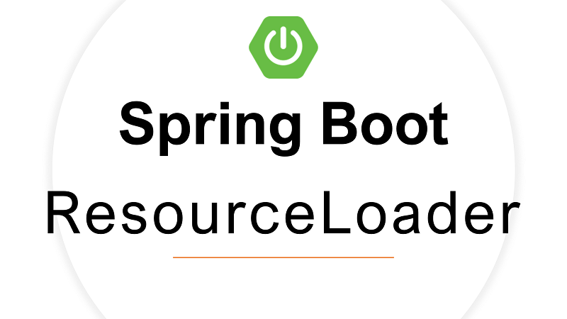 Spring Boot Read File from resources using ResourceLoader