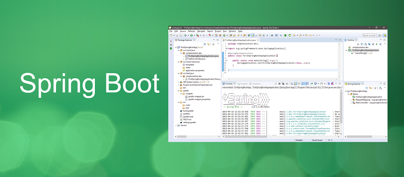 Creating Spring Boot Application with Spring Tool Suite