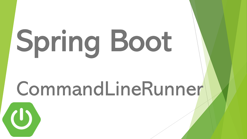 Spring Boot Console Application using CommandLineRunner
