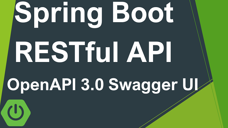 Spring Boot RESTful API Documentation with OpenAPI 3.0 and Swagger-UI using springdoc-openapi