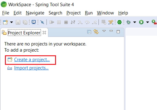 Spring Boot Web Application Download